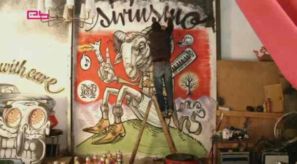 siriusmo painter plaisir du plaisir Interview de Siriusmo : peintre et musicien à la fois