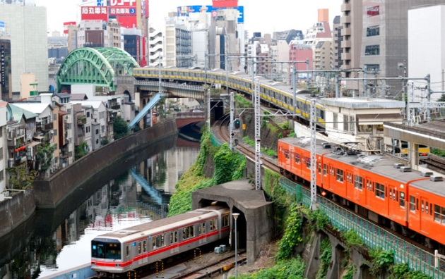 plaisirduplaisir tokyo trains november Beaucoup de fracheur dans la musique et ailleurs