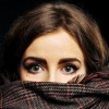 plaisirduplaisir plaisir eyes green scarf girl